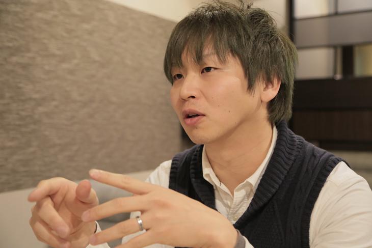 熱く語るマツタケ氏