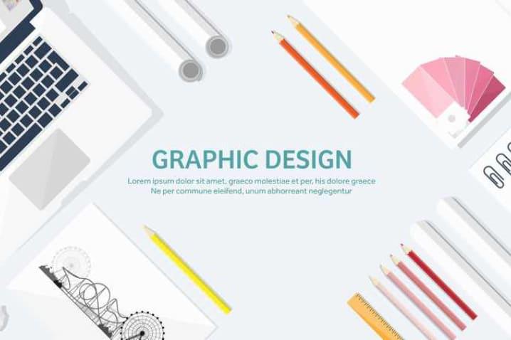 グラフィックデザインとは?デザインの種類と外注のメリット・デメリット