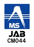 認証登録内容:JAB CMO44