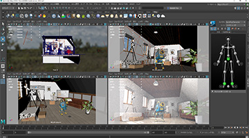 CG video production