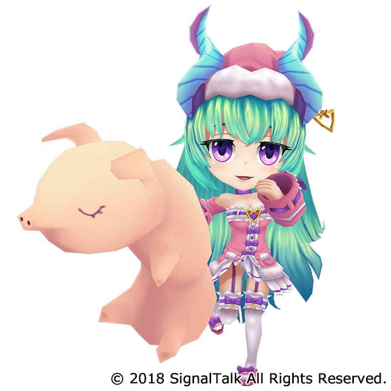 株式会社ジーアングル 3DCG制作実績ダンまつま!~ダンジョンで待ってます!~